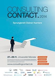 consultingcontact.2014: Sprungbrett Deiner Karriere
