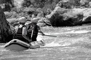 Rafting-Herausforderung