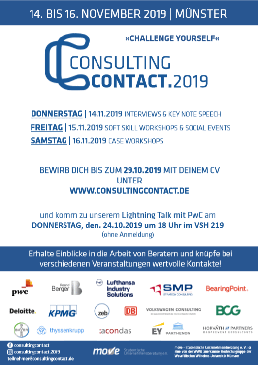 consultingcontact.2019: CHALLENGE YOURSELF