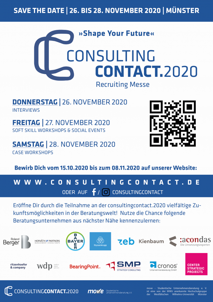 consultingcontact.2020: SHAPE YOUR FUTURE