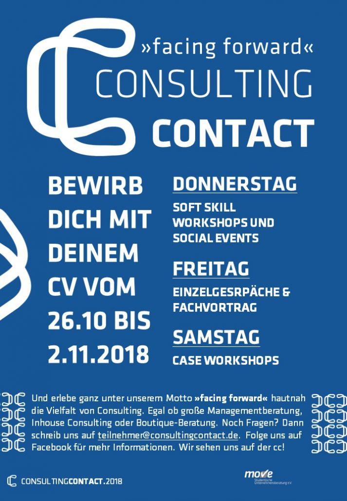 consultingcontact.2018: FACING FORWARD